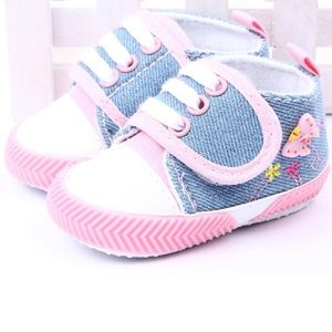 Other - Baby Girl Canvas Shoes